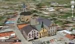 Google Earth mapy s 3D objekty
