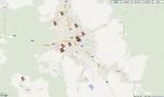 Interaktivní mapa Google